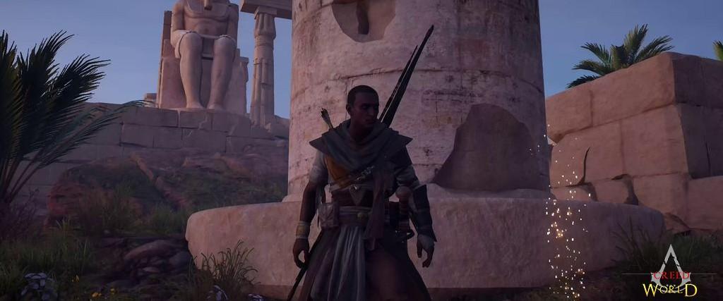 Localização e solução de todos os Papiros em Assassin's Creed Origins 118
