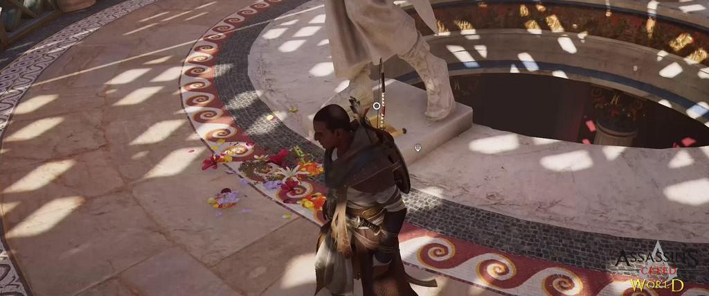 Localização e solução de todos os Papiros em Assassin's Creed Origins 120