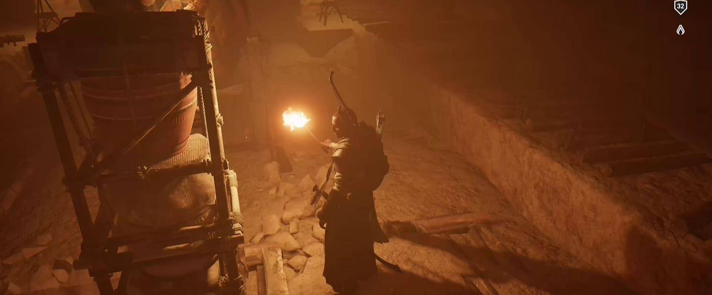 Localização e soluções das tumbas secretas em Assassin's Creed Origins 47