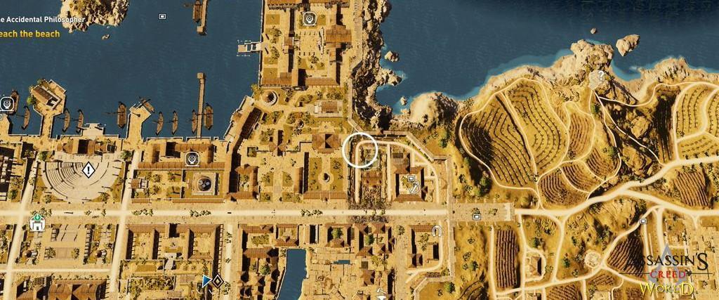 Localização e solução de todos os Papiros em Assassin's Creed Origins 123