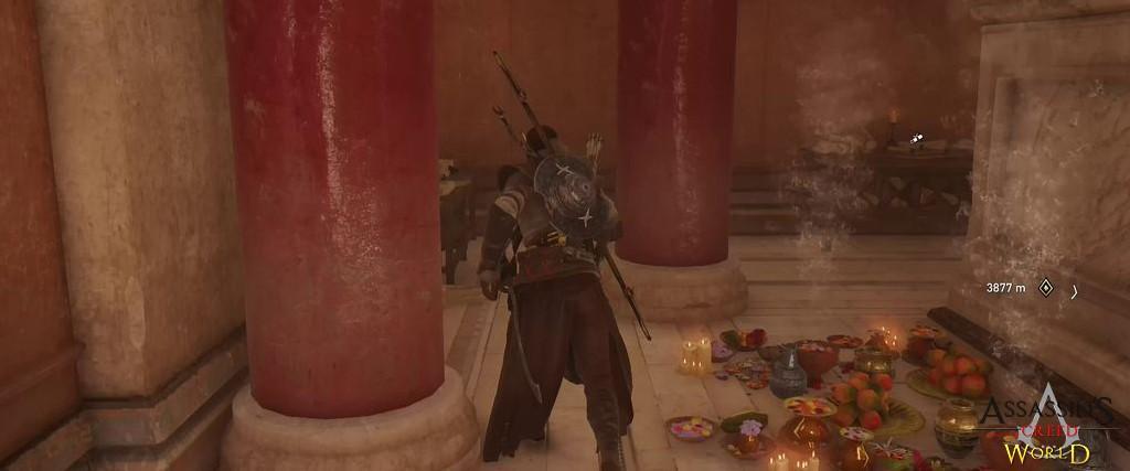 Localização e solução de todos os Papiros em Assassin's Creed Origins 132
