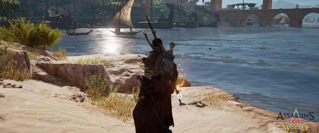 Localização e solução de todos os Papiros em Assassin's Creed Origins 134