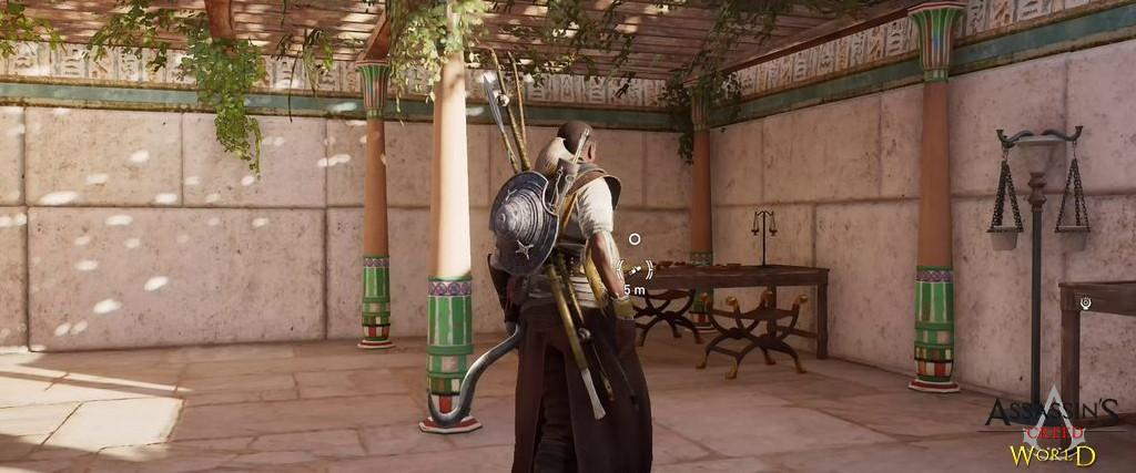 Localização e solução de todos os Papiros em Assassin's Creed Origins 136