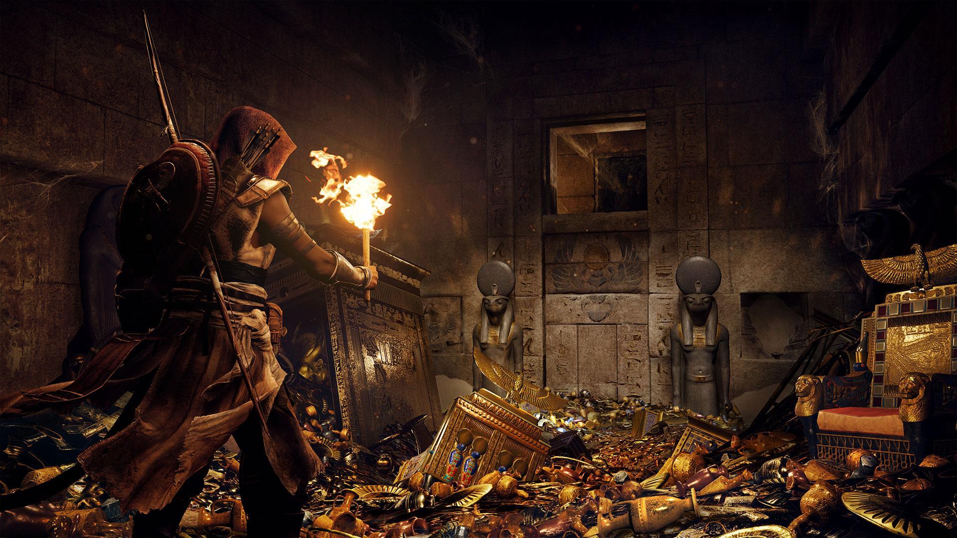 Localização e soluções das tumbas em Assassins Creed Origins