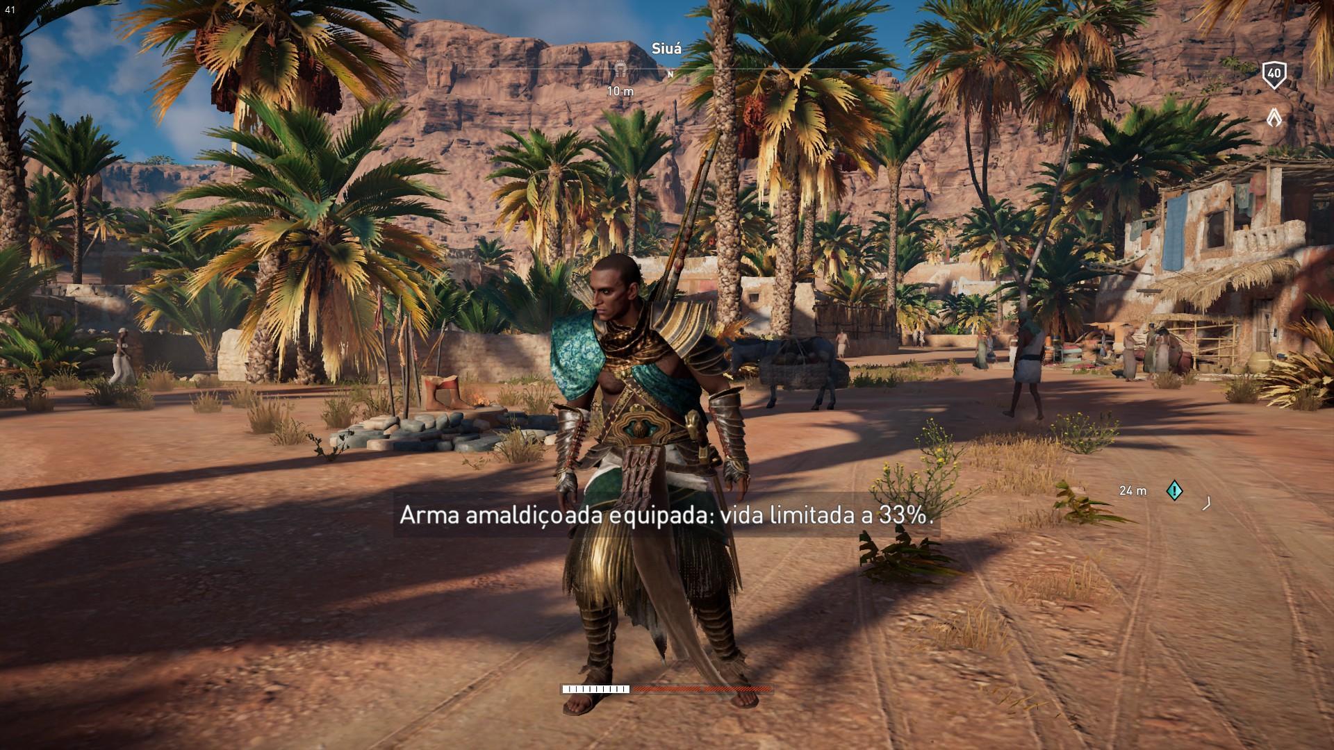 Itens Amaldiçoados em Assassin's Creed Origins