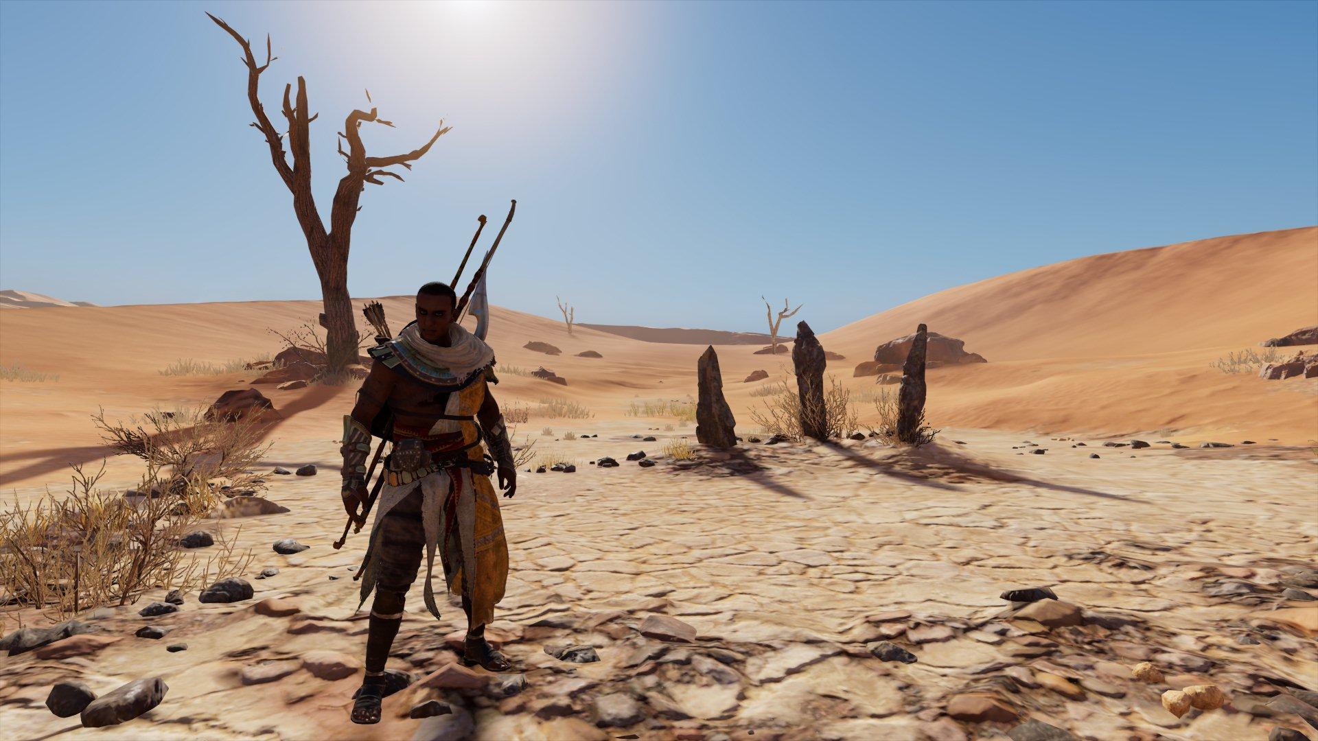 Como encontrar todos os círculos de pedras em Assassin's Creed Origins