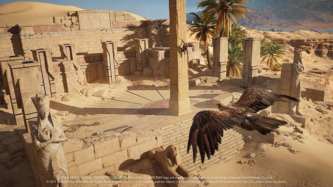 Assassin's Creed Origins encontra Final Fantasy XV 4