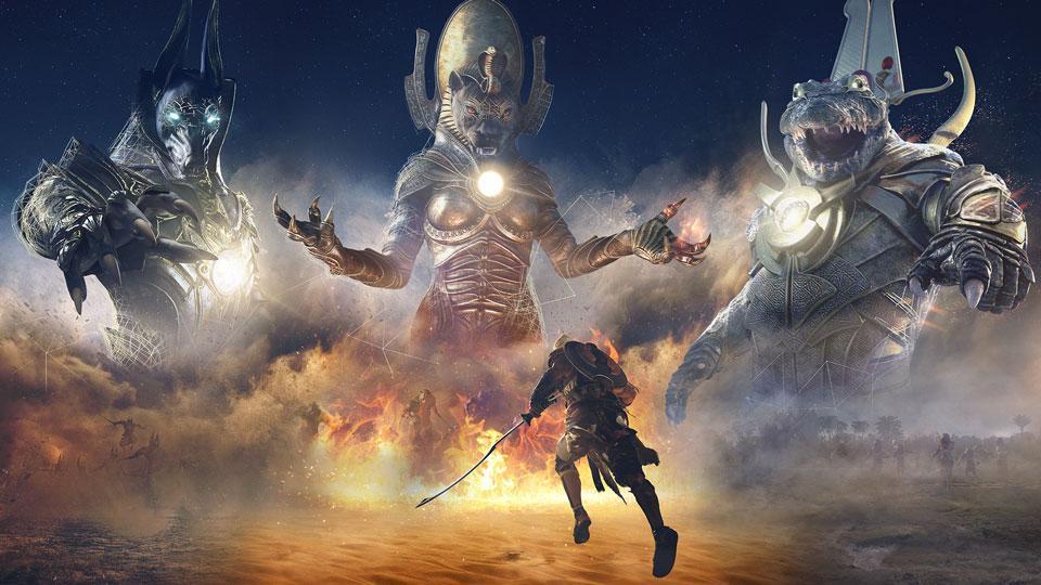 Provações dos Deuses – Enfrente o triunvirato