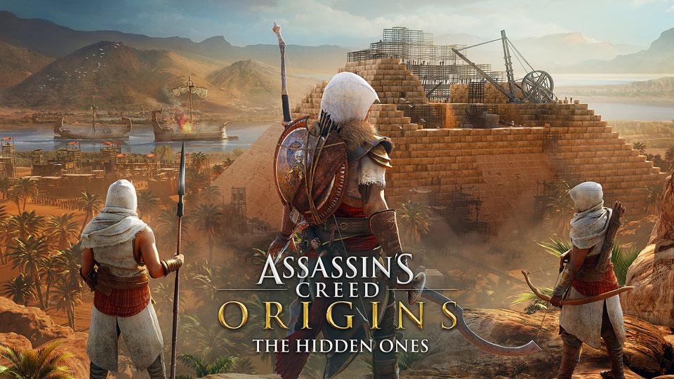 Assassin's Creed Origins: The Hidden Ones (DLC) é lançado!