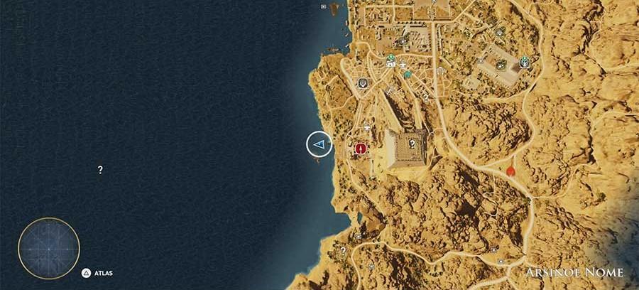 Solução e localização dos Papiros de Assassin's Creed Origins - The Hidden Ones (Os ocultos) 9