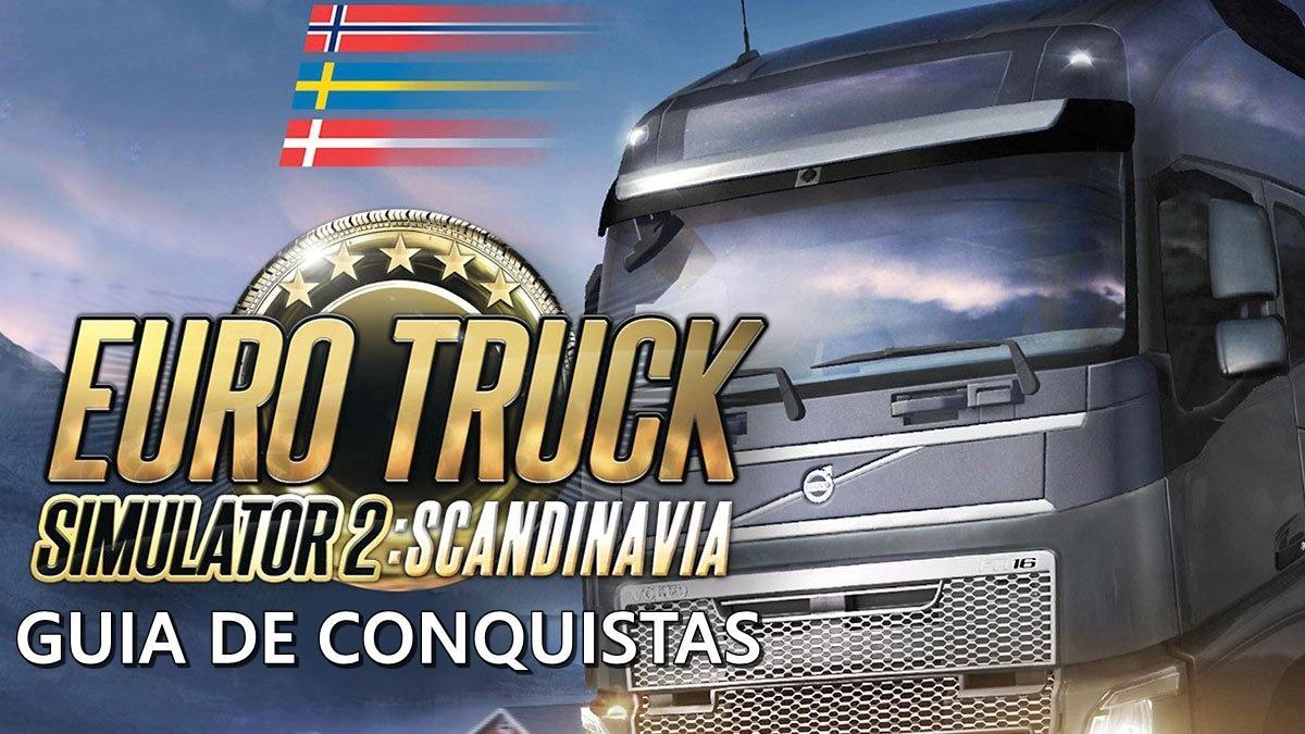 Guia de Conquistas para Euro Truck Simulator 2 - DLC Scandinavia