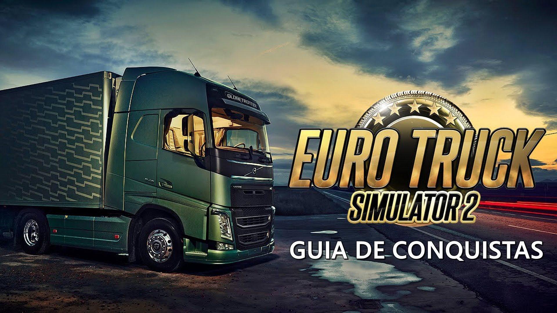 Guia de Conquistas para Euro Truck Simulator 2