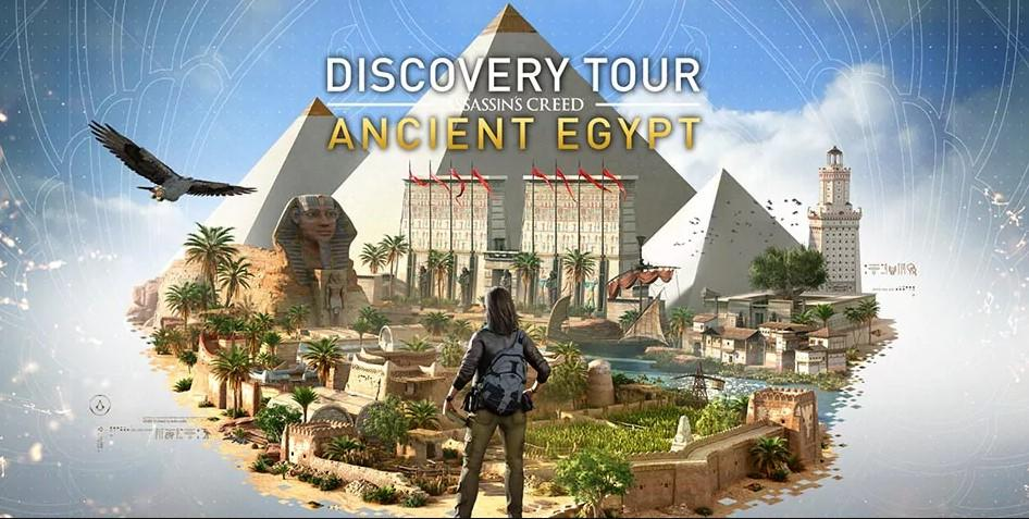Discovery Tour de Assassin's Creed: Ancient Egypt já está disponível