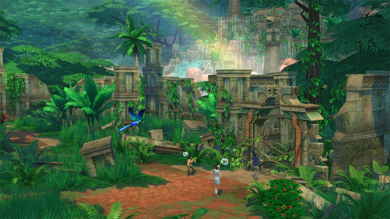 O bicho vai pegar com The Sims 4 Aventuras na Selva