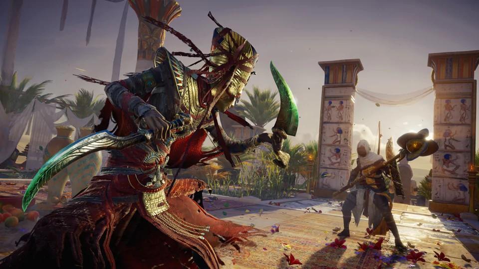 Curse of the Pharaohs possibilita explorar um novo mundo e lutar contra reis mortos-vivos