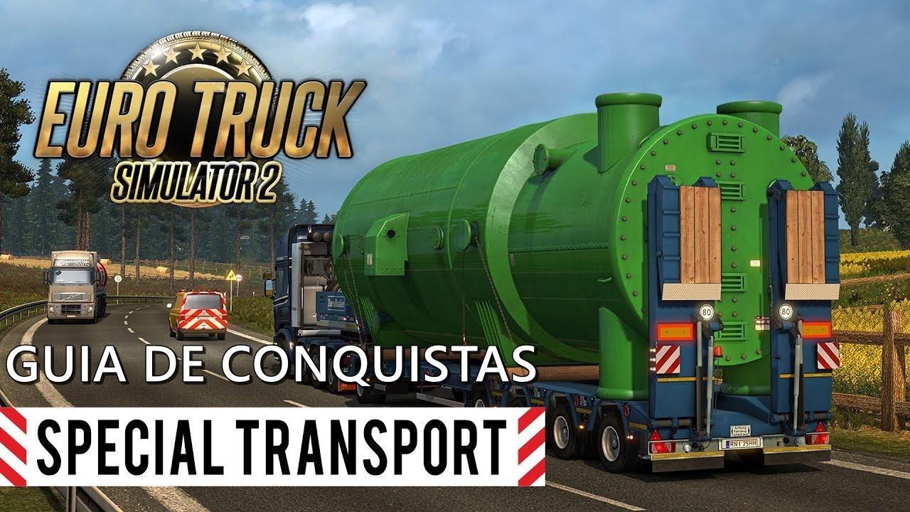 Guia de Conquistas para Euro Truck Simulator 2 – DLC Special Transport