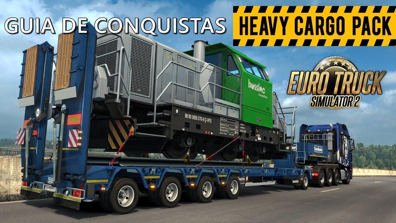 Guia de Conquistas para Euro Truck Simulator 2 – DLC Heavy Cargo Pack