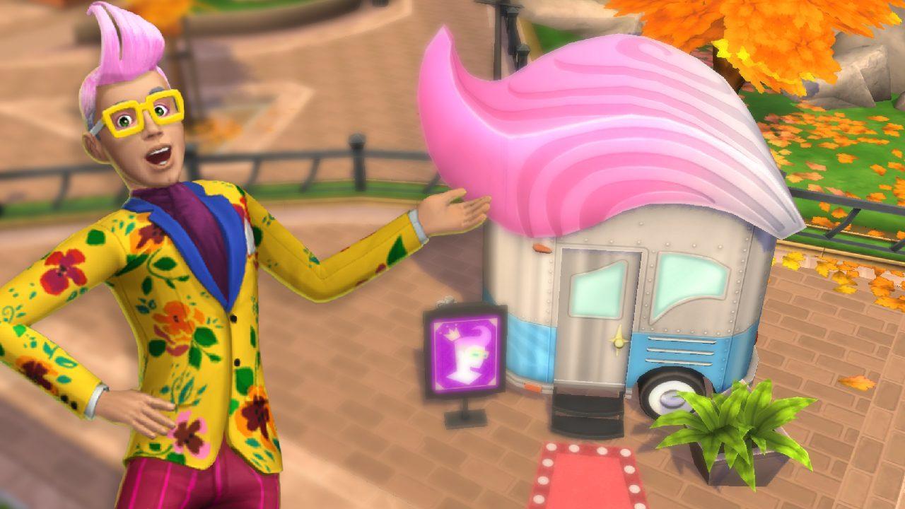 Conheça Izzy Fabulous, do The Sims Móvel 2