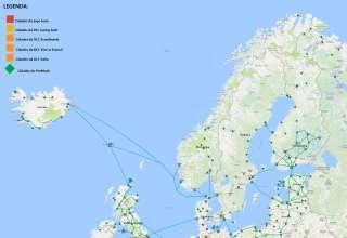 Mapa da Europa ProMods para Euro Truck Simulator 2 169