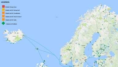 Mapa da Europa ProMods para Euro Truck Simulator 2 5