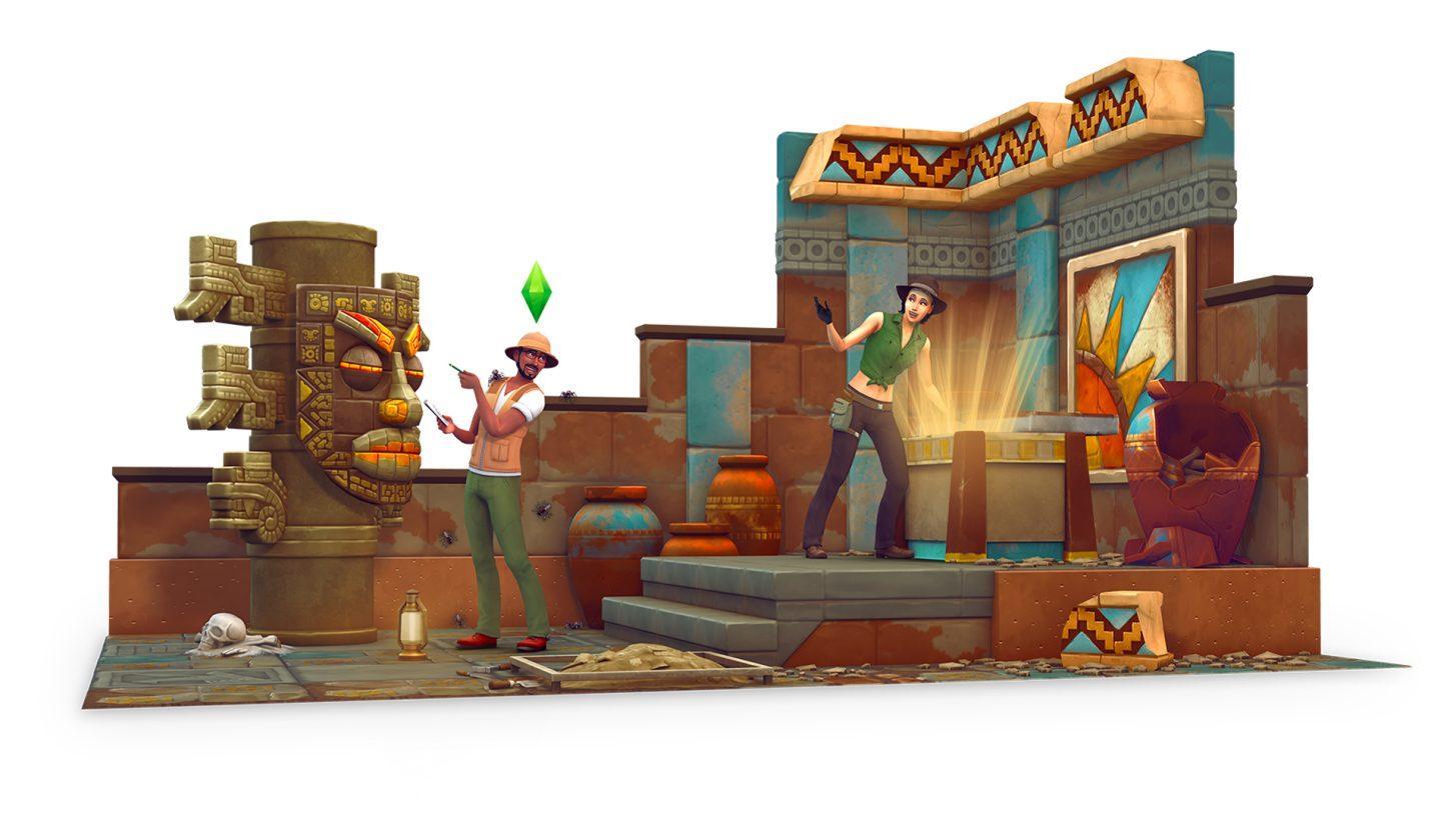 The Sims 4 Aventuras na Selva chegou!!! 2