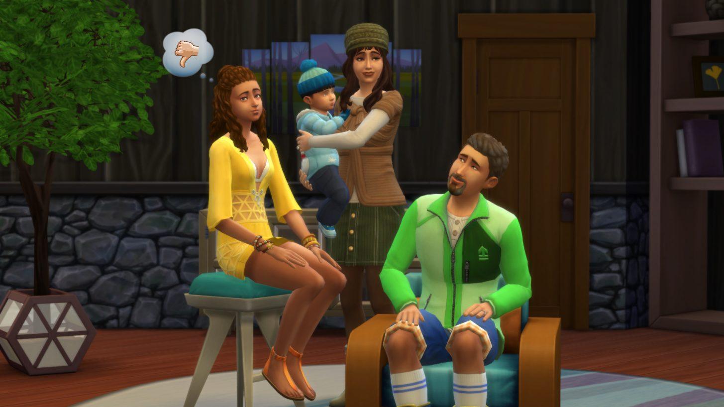 Conheçam a família Climate em The Sims 4 Estações