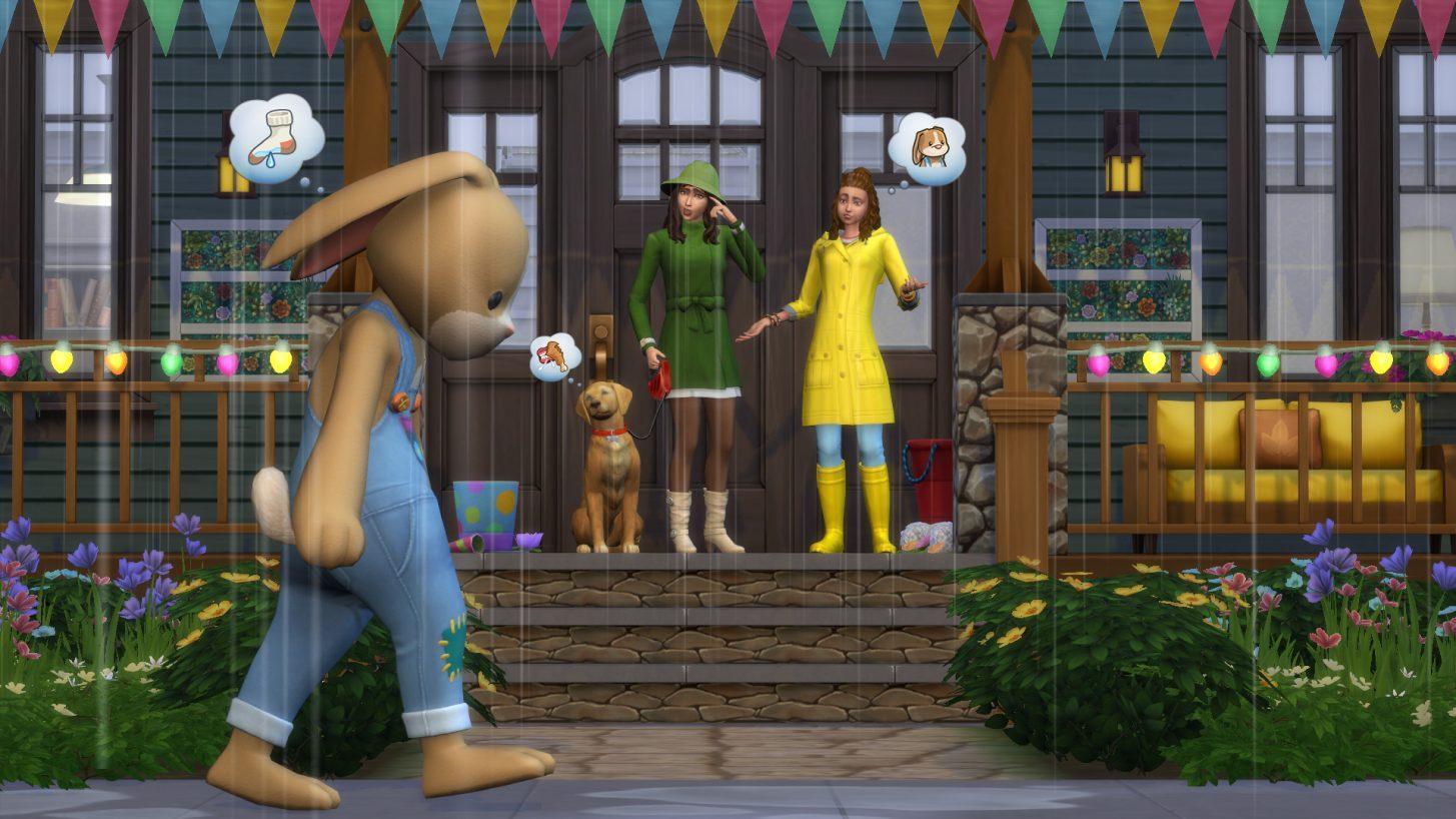 Conheçam a família Climate em The Sims 4 Estações 6