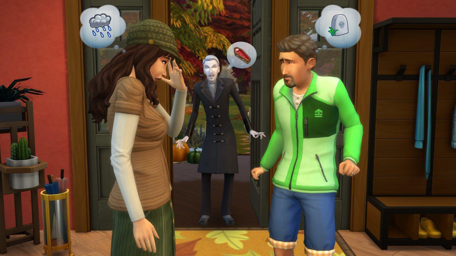 Conheçam a família Climate em The Sims 4 Estações 4