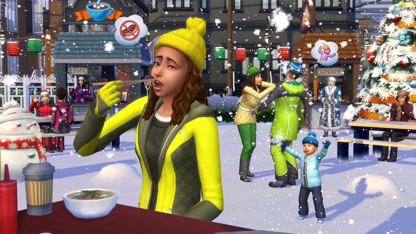 Conheçam a família Climate em The Sims 4 Estações 5