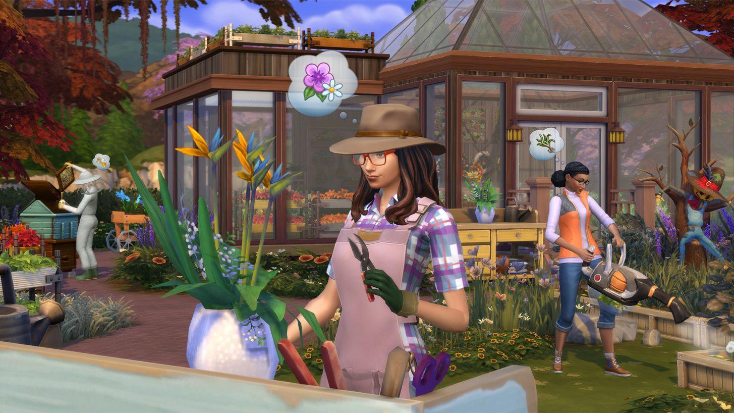 Festa no Jardim do The Sims 4 (Nova Atualização Disponível) 2