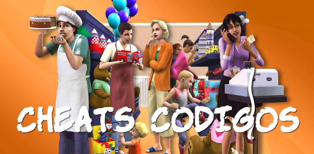 the sims 2 aberto para negocios cheats codigos