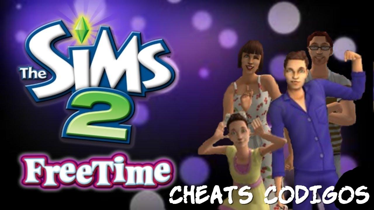 the sims 2 tempo livre cheats codigos