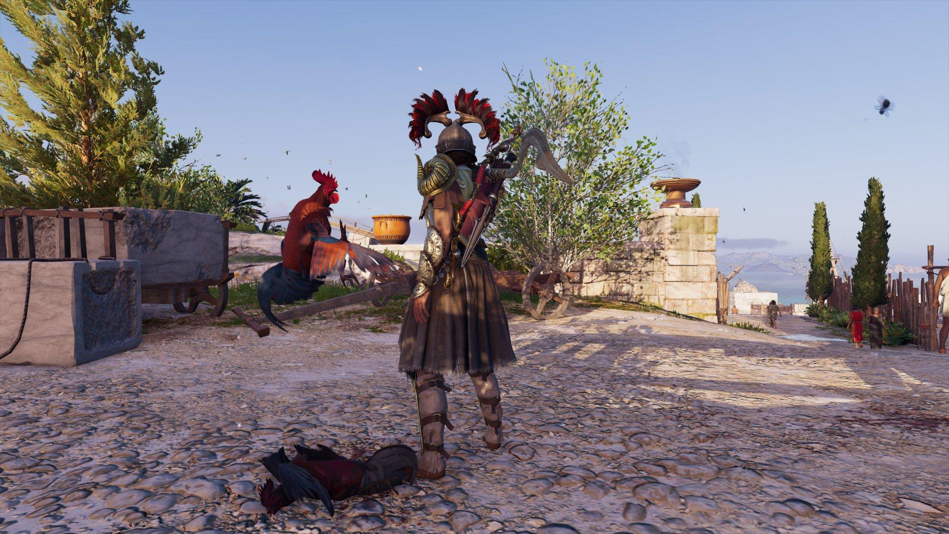 As malditas galinhas de Assassin's Creed Odyssey