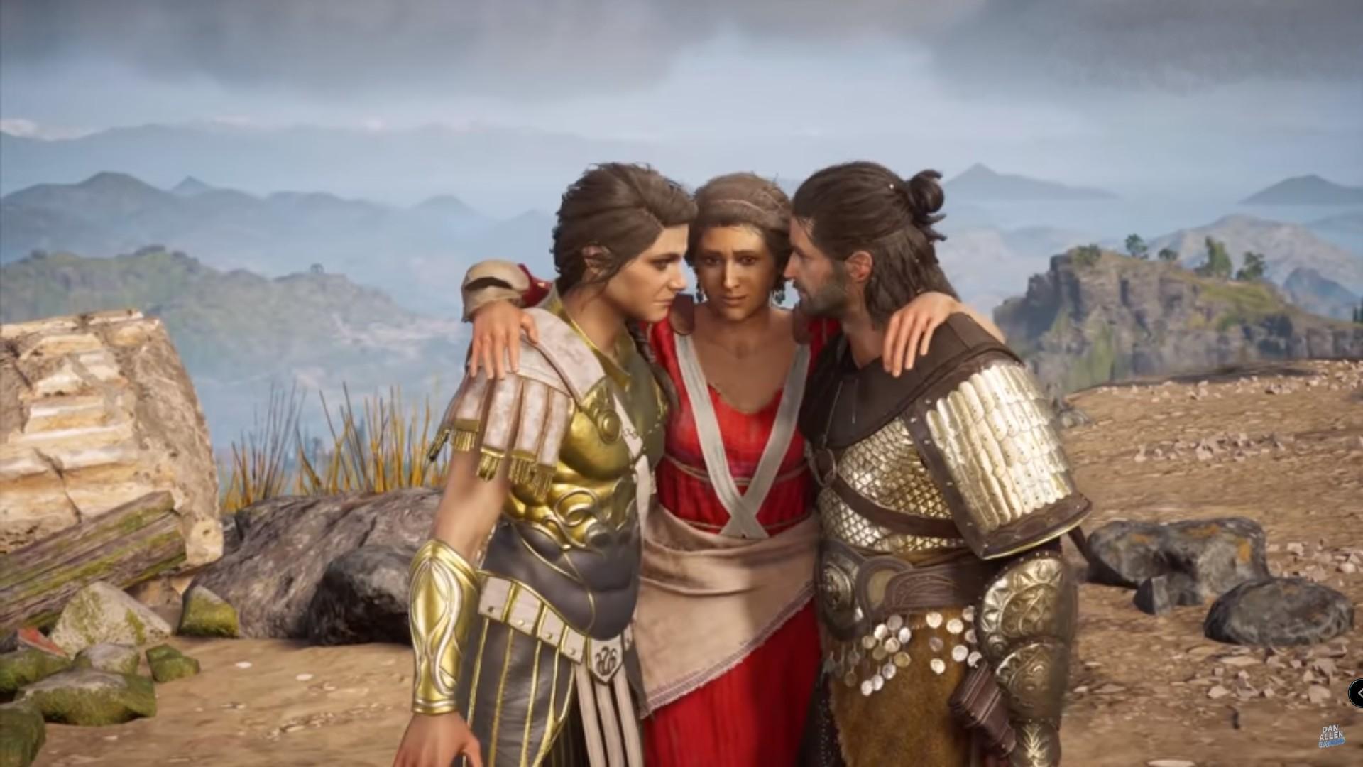 Como conseguir o final feliz em Assassin's Creed Odyssey: Todos vivem!