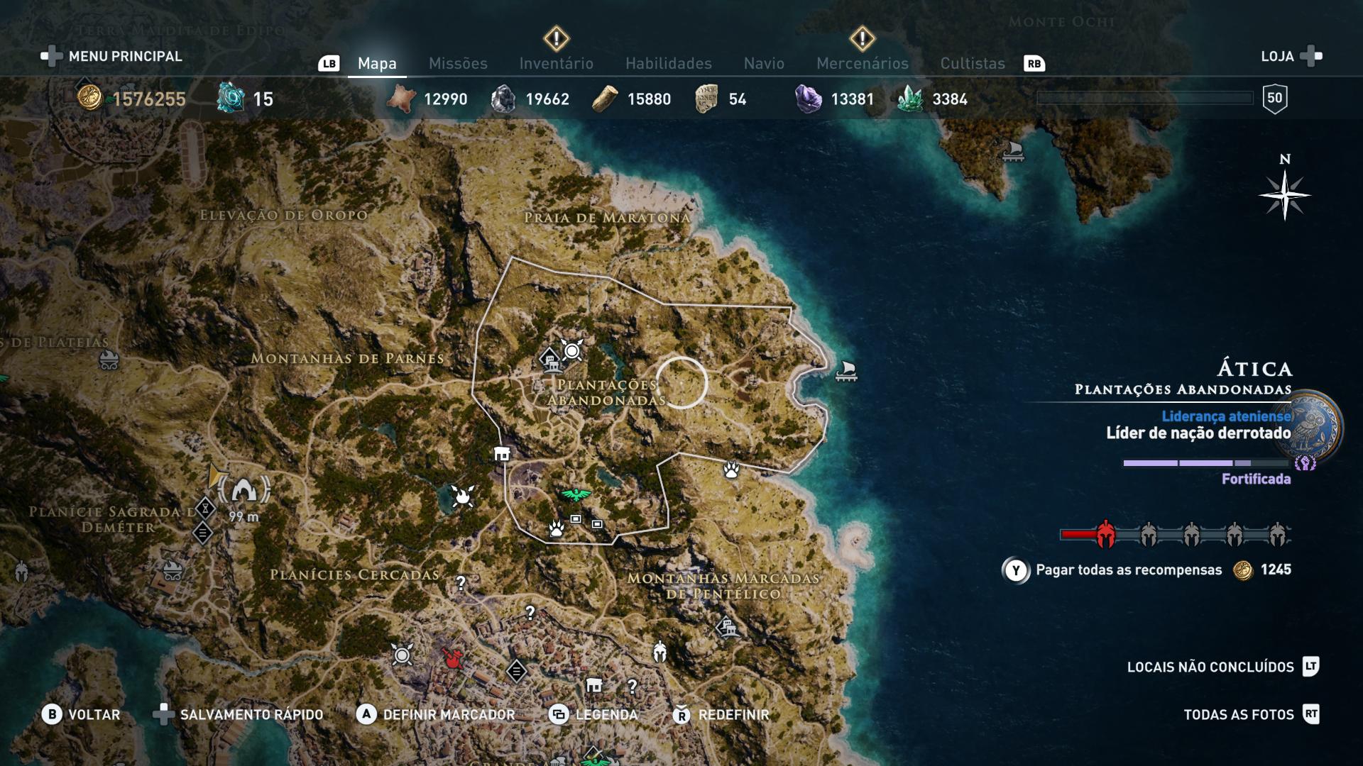 Assassin's Creed Odyssey - Guia dos Mercenários - Como pagar a recompensa pela tua cabeça 4