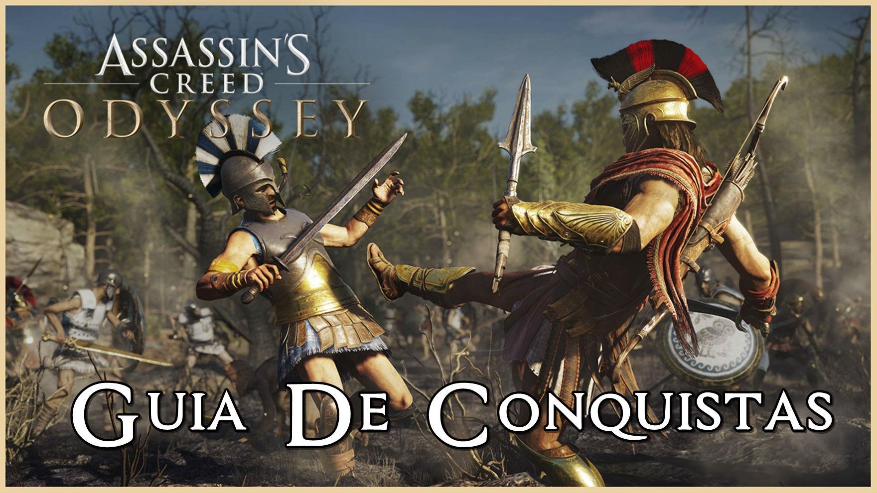 Guia de Conquistas / Troféus para Assassin's Creed Odyssey
