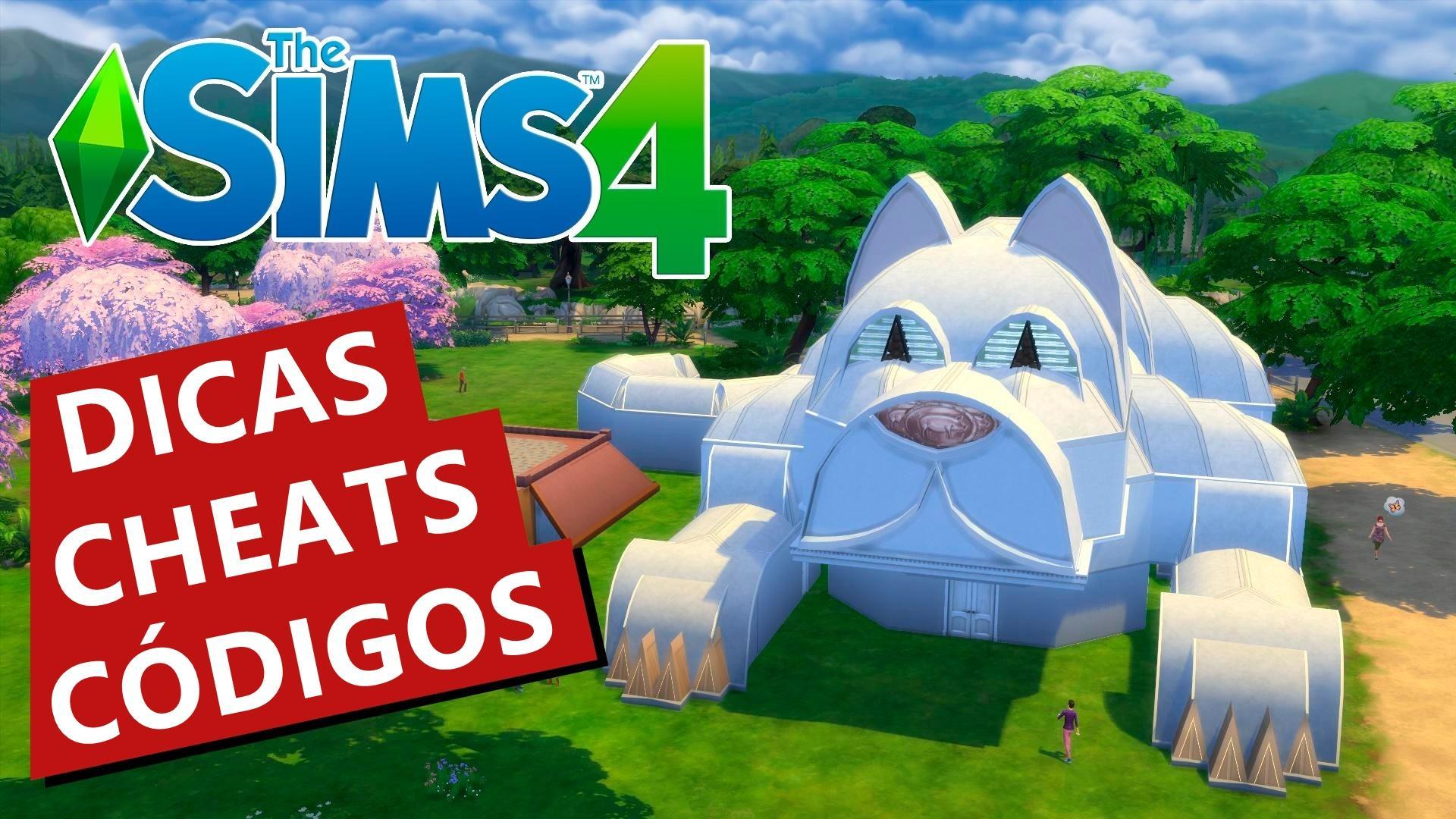 The Sims 4 - Todos os cheats, códigos, dicas e macetes do jogo