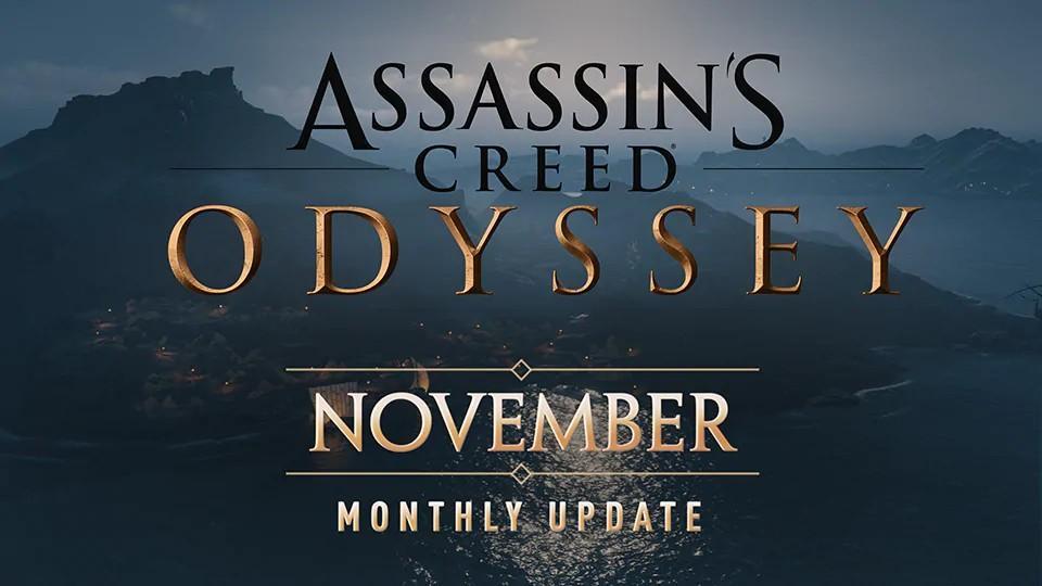 Novidades de Novembro de Assassin's Creed Odyssey 7
