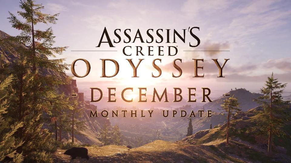 Novidades de Dezembro em Assassin's Creed Odyssey 12