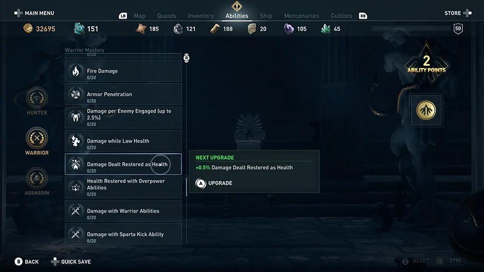 Assassin's Creed Odyssey - Novo Sistema de Níveis de Domínio 6