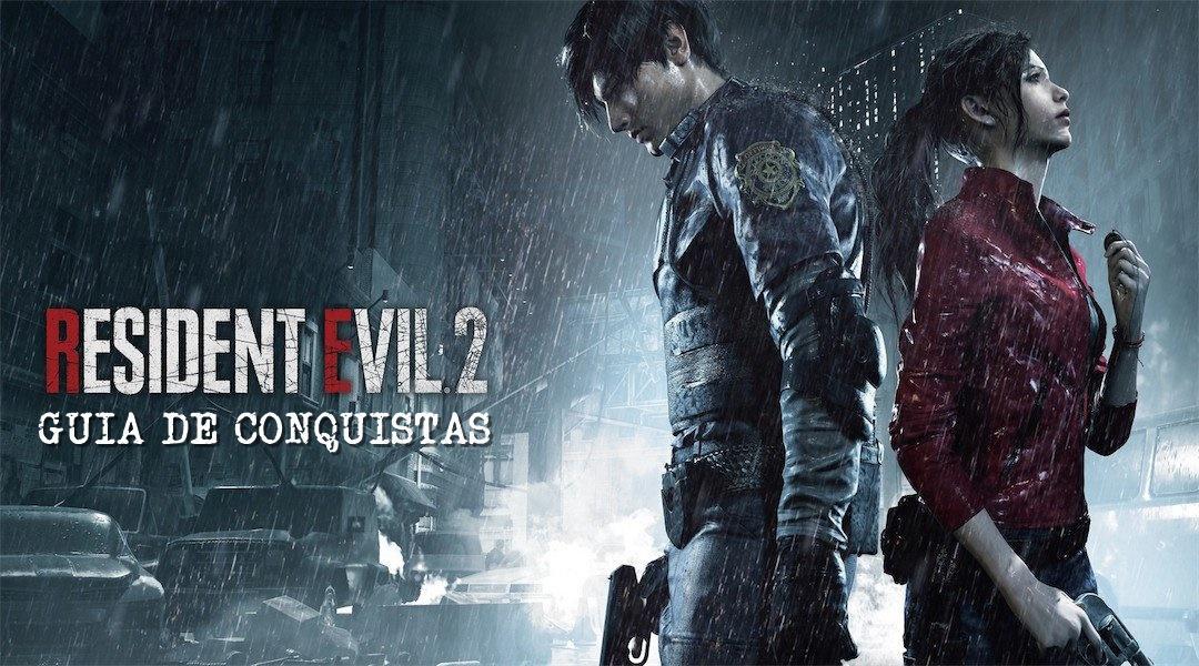 Guia de Conquistas Troféus de Resident Evil 2 Remake