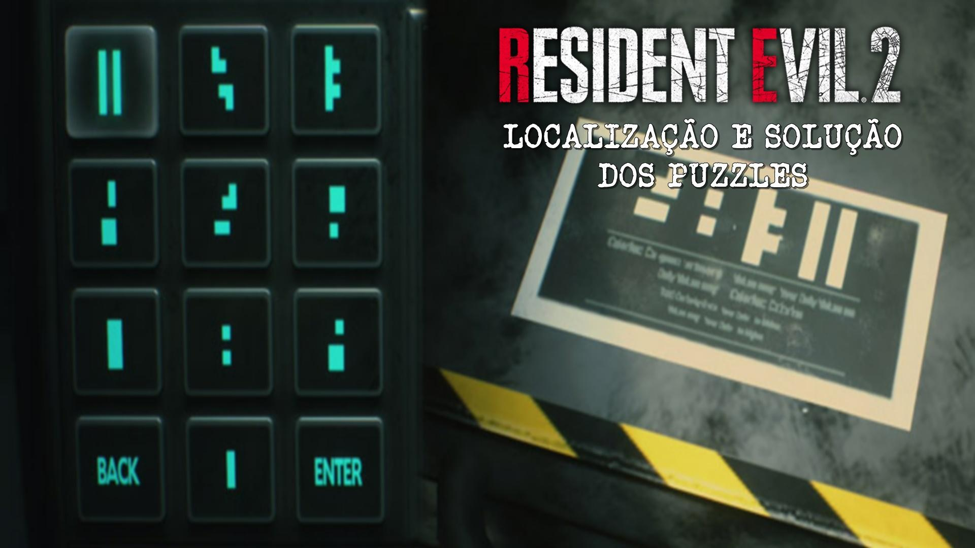 Guia de Soluções de Puzzles de Resident Evil 2 Remake