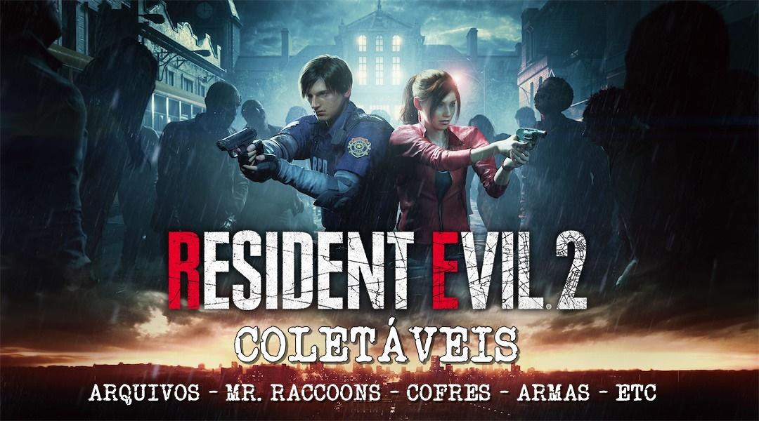 Guia de todos Colecionáveis de Resident Evil 2 Remake
