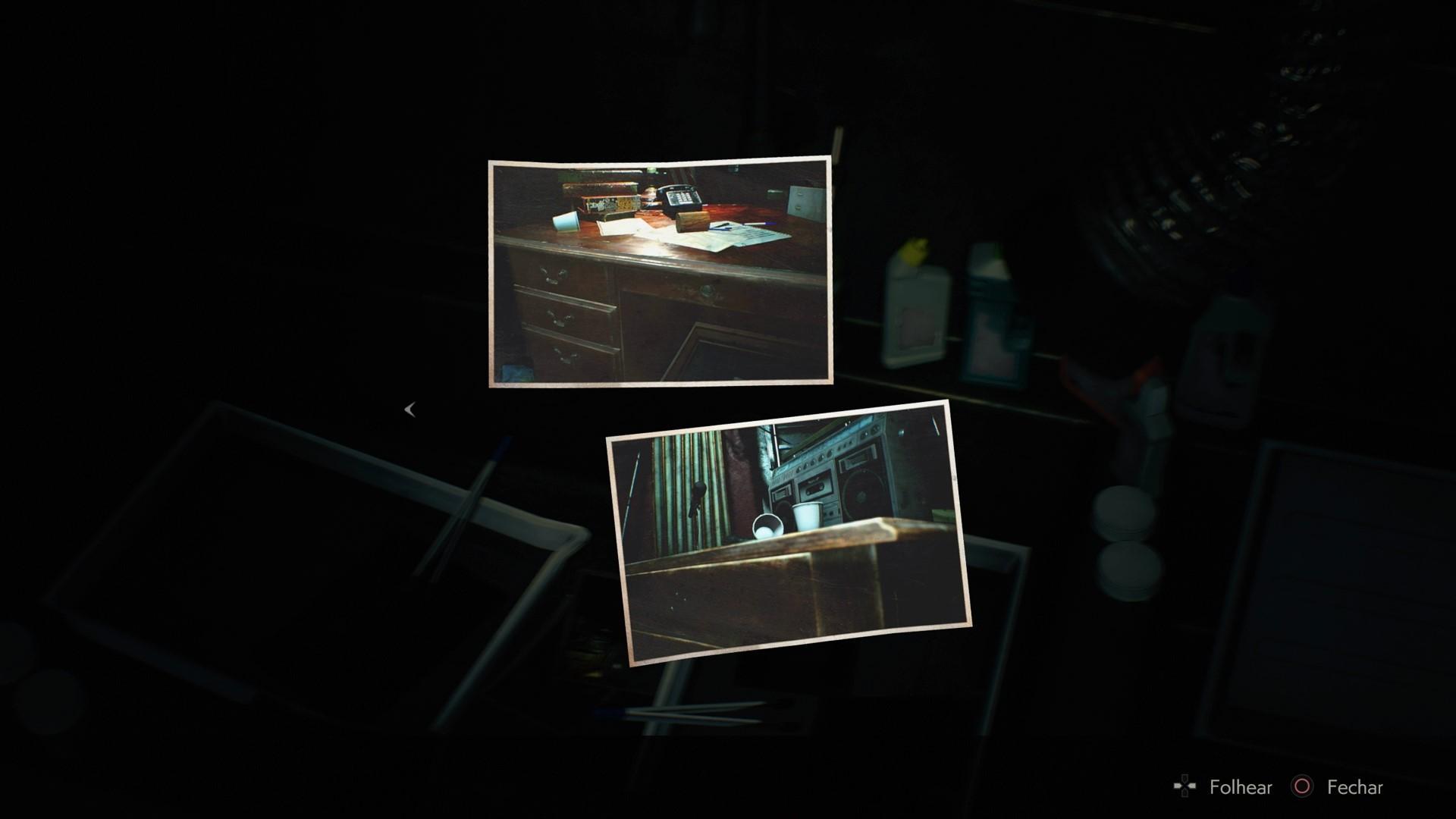 Como conseguir a foto secreta de Rebecca Chambers em Resident Evil 2 Remake 5