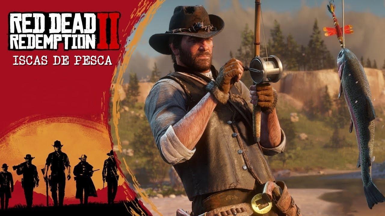 Como conseguir isca de pesca em Red Dead Redemption 2