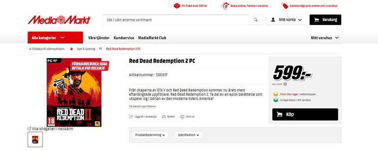 red dead redemption 2 pc folder
