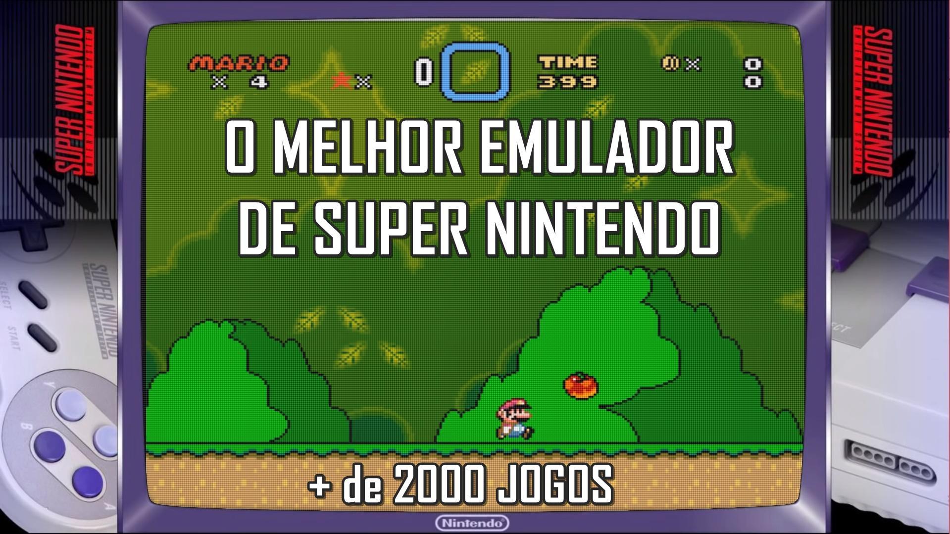 SNES9X - O melhor emulador de Super Nintendo