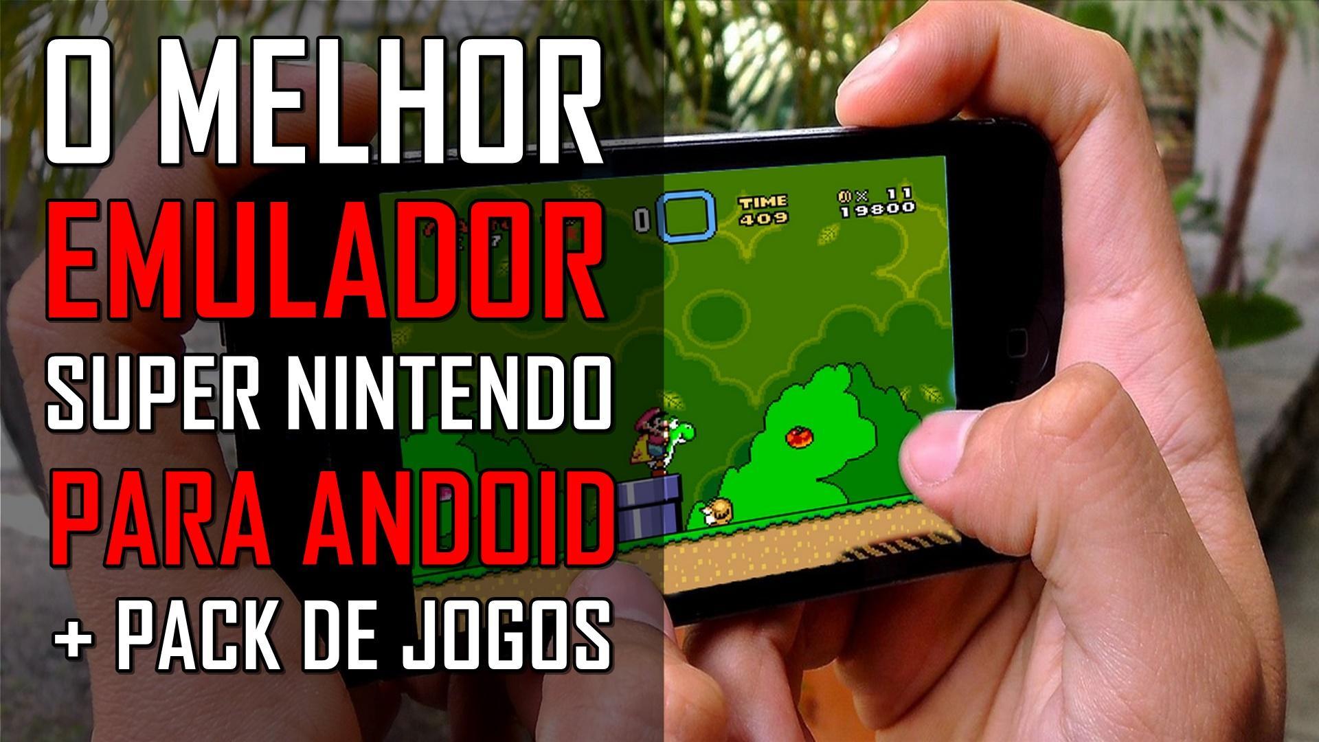 John SNES - O melhor emulador de Super Nintendo para Android + Jogos