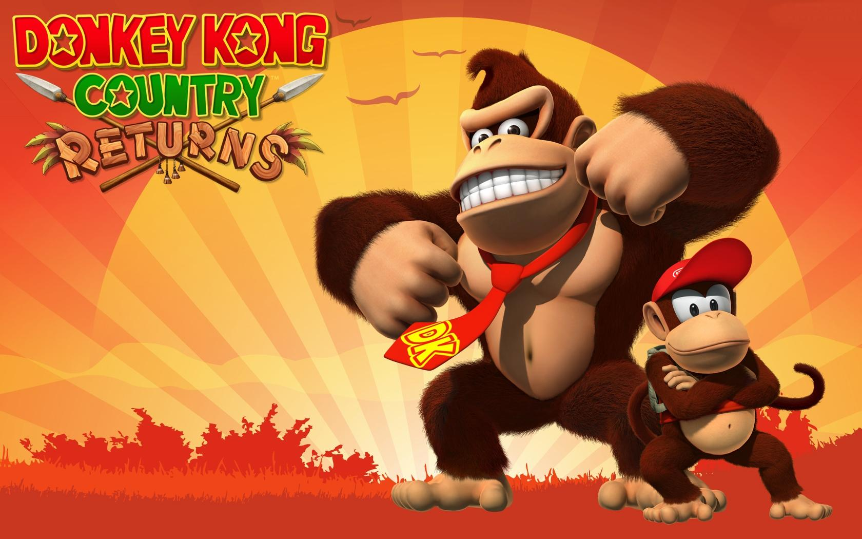 Donkey Kong Country Returns ganha versão exclusiva FULL HD na China