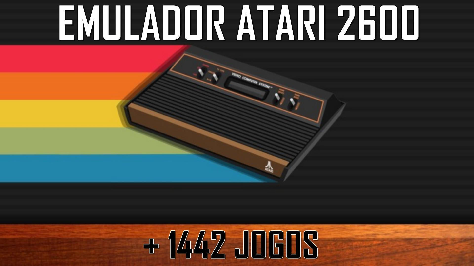 STELLA: Emulador para ATARI 2600 + 1442 jogos